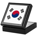 South Korea Keepsake Box