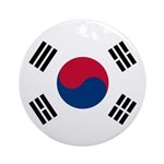 South Korea Ornament (Round)
