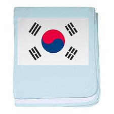 South Korea baby blanket