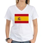 Spain Women's V-Neck T-Shirt