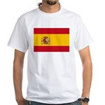 Spain White T-Shirt