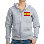 Spain Women's Zip Hoodie