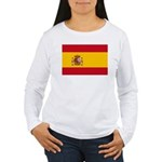 Spain Women's Long Sleeve T-Shirt