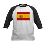 Spain Kids Baseball Jersey