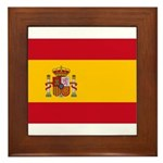 Spain Framed Tile