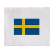 Sweden Throw Blanket