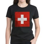 Switzerland Women's Dark T-Shirt