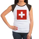 Switzerland Women's Cap Sleeve T-Shirt