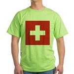 Switzerland Green T-Shirt