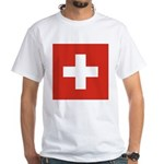 Switzerland White T-Shirt