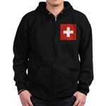 Switzerland Zip Hoodie (dark)