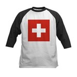 Switzerland Kids Baseball Jersey