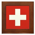 Switzerland Framed Tile