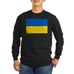 Ukraine Long Sleeve Dark T-Shirt