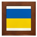 Ukraine Framed Tile