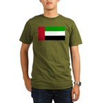 United Arab Emirates Organic Men's T-Shirt (dark)