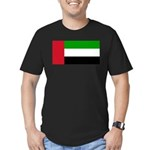 United Arab Emirates Men's Fitted T-Shirt (dark)