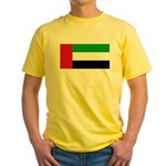 United Arab Emirates Yellow T-Shirt