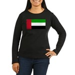United Arab Emirates Women's Long Sleeve Dark T-Sh