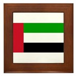 United Arab Emirates Framed Tile