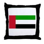 United Arab Emirates Throw Pillow
