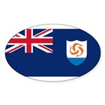 Anguilla Sticker (Oval 50 pk)