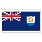 Anguilla Sticker (Rectangle)
