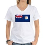 Anguilla Women's V-Neck T-Shirt