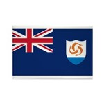 Anguilla Rectangle Magnet (100 pack)