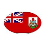 Bermuda 38.5 x 24.5 Oval Wall Peel