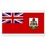 Bermuda Sticker (Rectangle 10 pk)