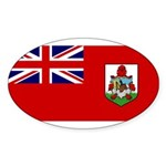 Bermuda Sticker (Oval 10 pk)