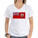Bermuda Women's V-Neck T-Shirt