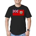 Bermuda Men's Fitted T-Shirt (dark)