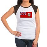 Bermuda Women's Cap Sleeve T-Shirt