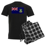 British Virgin Islands Men's Dark Pajamas
