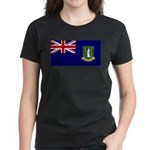 British Virgin Islands Women's Dark T-Shirt