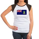 British Virgin Islands Women's Cap Sleeve T-Shirt