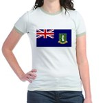 British Virgin Islands Jr. Ringer T-Shirt