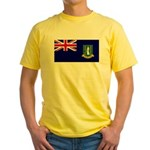 British Virgin Islands Yellow T-Shirt