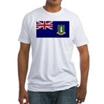 British Virgin Islands Fitted T-Shirt