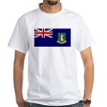 British Virgin Islands White T-Shirt