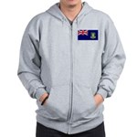 British Virgin Islands Zip Hoodie