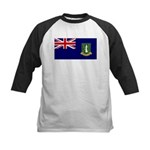 British Virgin Islands Kids Baseball Jersey