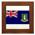 British Virgin Islands Framed Tile