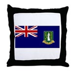 British Virgin Islands Throw Pillow