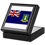 British Virgin Islands Keepsake Box