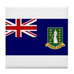 British Virgin Islands Tile Coaster