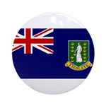 British Virgin Islands Ornament (Round)