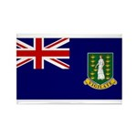 British Virgin Islands Rectangle Magnet (100 pack)